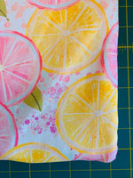 Lemons 1 yard CL knit 260 gsm
