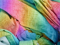 Princess rainbow CL knit , 260 gsm, 1 yard, in stock