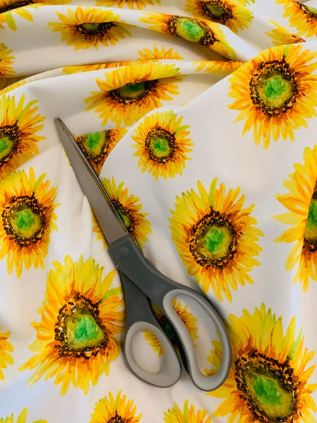 Sunflower CL knit , 220 gsm, 1 yard pre order will ship June5