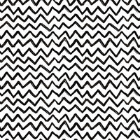 Euro Oeko-Tex Black and White Chevron
