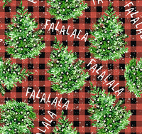 Christmas Trees FaLaLa 1 yard CL knit 260 gsm