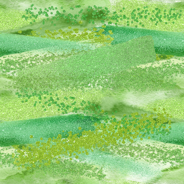 Lucky Brush Strokes St Patrick 1 yard CL knit