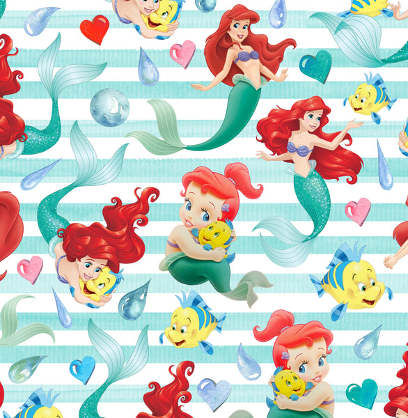Little Mermaid CL knit 1 yard