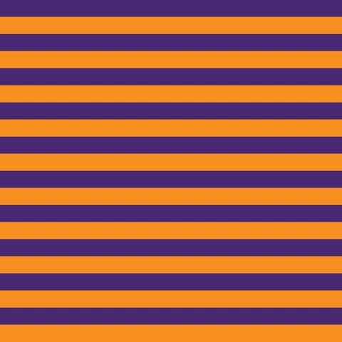 "Knit Purple Orange 1/2"" Stripes"