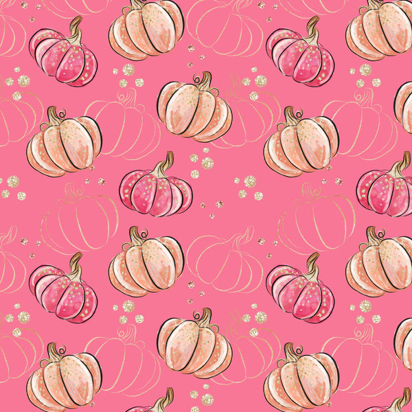 Pink Pumpkin 05 CL knit , 260 gsm, 1 yard will ship August 10-15