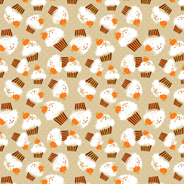 Pumpkin Spice Latte 007 1 yard CL 260 gsm