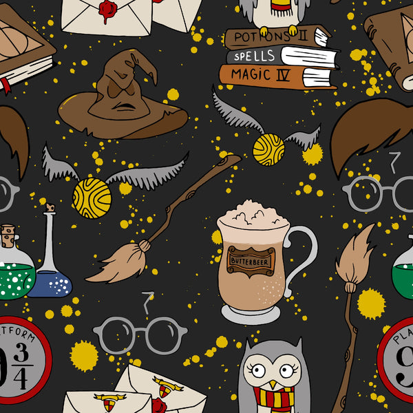 Wizarding Collection 20 CL knit , 260 gsm, 1 yard PREORDER MARCH15