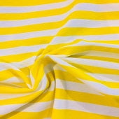 "Knit Yellow Stripes 1/2"" in stock"