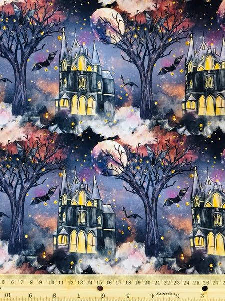 Halloween Haunted Mansion 01 - 1 yard