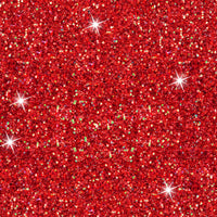 Red glitter 1 yard CL knit 260 gsm