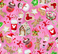 Christmas Winter Sweets 1 yard CL knit 260 gsm