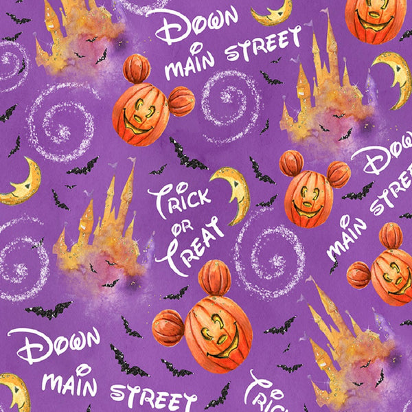 Halloween Trick or Treat yard CL knit 260 gsm in stock