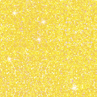 Yellow faux glitter CL knit , 260 gsm, 1 yard in stock