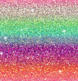 just arrived Rainbow ombre glitter CL knit 1 yard