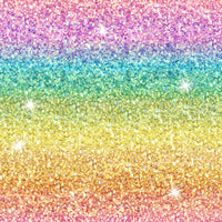Rainbow Pastel faux glitter Collection 05 CL knit , 260 gsm, 1 yard in stock
