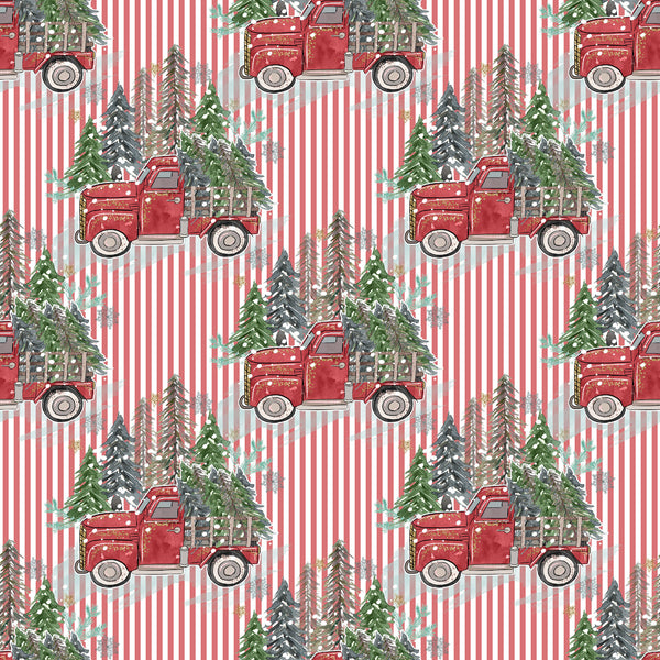 Red truck 003  1 yard CL 260 gsm TAT Nov 30