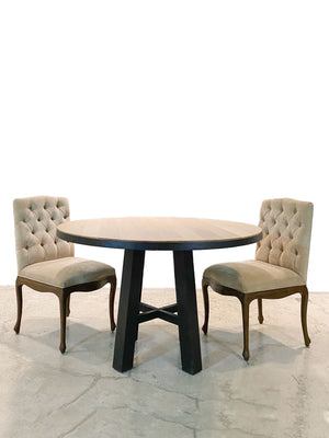 Farmhouse Style Round Dining Table