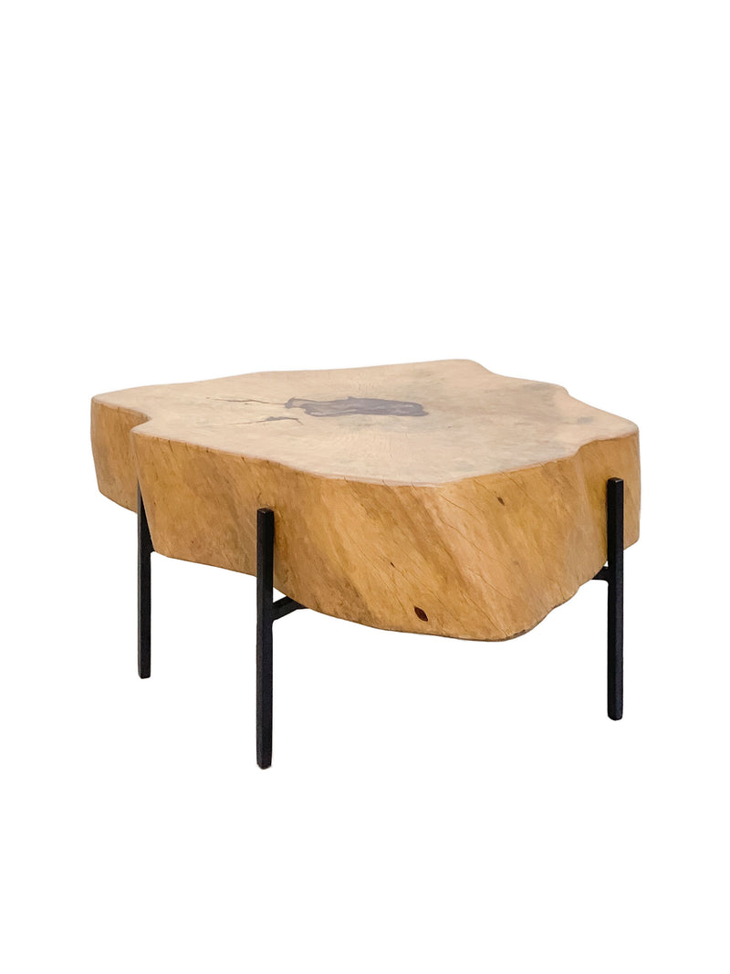 live edge heartwood coffee table