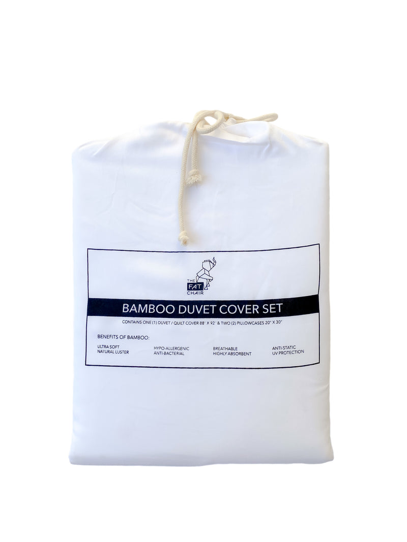 Bamboo Duvet Cover Set