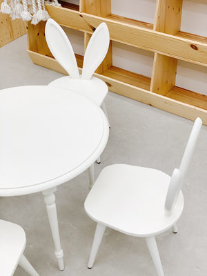 Bunny Table and Chairs Set