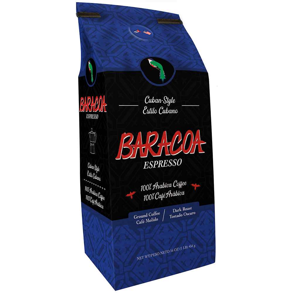 Baracoa 16oz Cuban-Style Espresso  ~Custom Ground~
