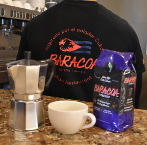 Big Baracoa Bundle! Espresso, Moka Pot, Cafecito Mug & Tee Shirt ~Save $15.00~