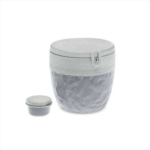 Koziol CLUB Bento Box / Lunch box, Organic Grey