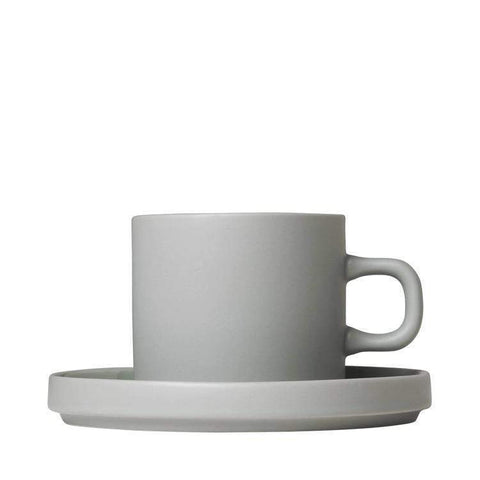 BLOMUS Mirage Grey BLOMUS Mio Set med Kaffekoppar 2 st - Agave Green/Mirage Grey/Moonbeam