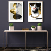poster-abstract-miami-interior-hall-darkblue