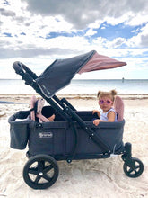 Load image into Gallery viewer, Pronto One Stroller - Pink with black frame - Starter package