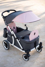 Load image into Gallery viewer, Pronto One Stroller - Pink with white frame - Starter package