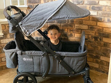 Load image into Gallery viewer, Pronto One Stroller - Dark Grey with black frame - Starter package