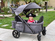 Load image into Gallery viewer, Pronto One Stroller - City Black with black frame - Starter package