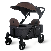 Load image into Gallery viewer, Pronto One Stroller - Brown with black frame - Starter package