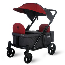 Load image into Gallery viewer, Pronto One Stroller - Burgundy with black frame - Starter package