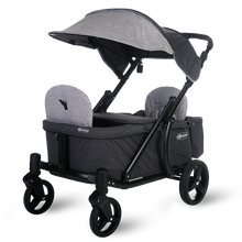 Load image into Gallery viewer, Pronto One Stroller - Grey with black frame – Starter package