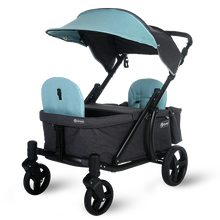 Load image into Gallery viewer, Pronto One Stroller - Mint with black frame - Starter package