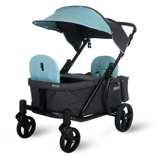 Pronto One Stroller - Mint with black frame - Starter package