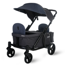 Load image into Gallery viewer, Pronto One Stroller - Navy with black frame - Starter package