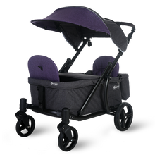 Load image into Gallery viewer, Pronto One Stroller - Purple with black frame - Starter package