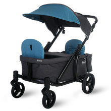 Load image into Gallery viewer, Pronto One Stroller - Dark Teal with black frame - Starter package