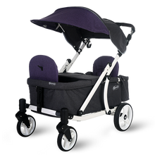 Load image into Gallery viewer, Pronto One Stroller - Purple with white frame - Starter package