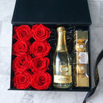 Infinite Rose | Be Mine Gift Hamper | Valentine's Day