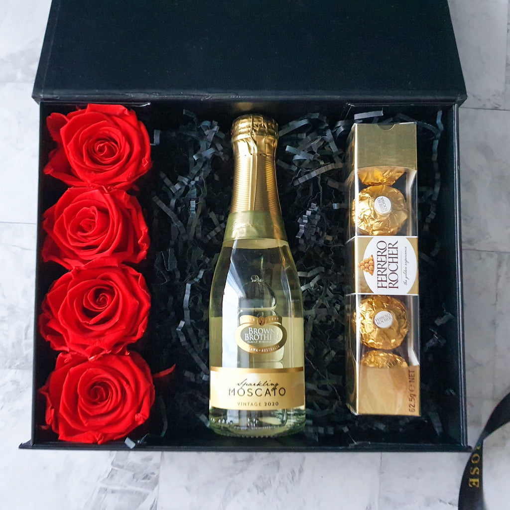 Infinite Rose | I Adore You Gift Hamper | Valentine's Day