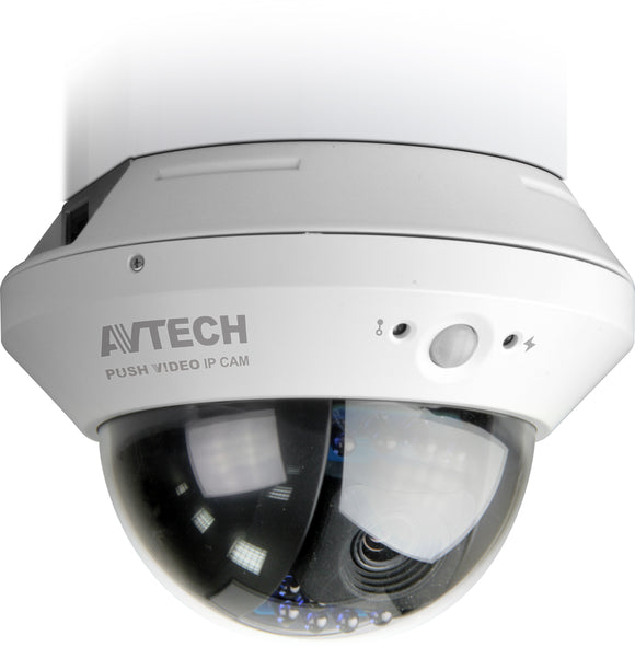 AVTECH AVN808 1.3 Megapixel IR Dome Network Camera