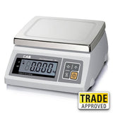 CAS SW-1C(RS) POS & ECR interface Scale (10kg x 2/5g) include serial cable *Office Demo