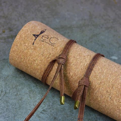 Yoga Mat Carry String with Bronze end