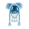 Double PomPom Hat with Tassels- Baby Blue