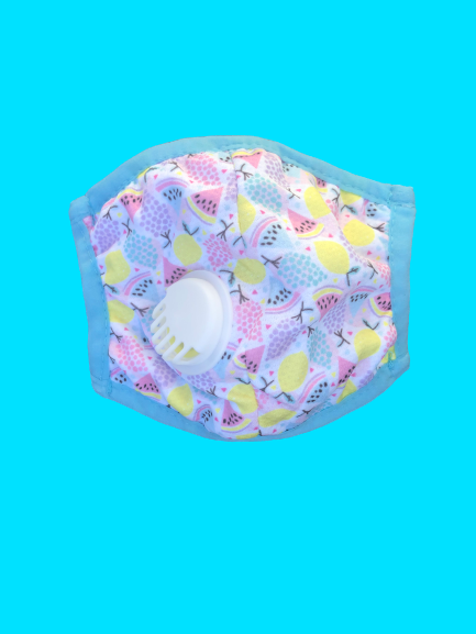 Kids Breathable Fruity Mask with Filter