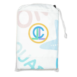 Compact, Sand Free, XL Fast Drying Beach & Travel Towel- 'Under the Sea'